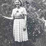 1957, Фото, подаренное будущему мужу