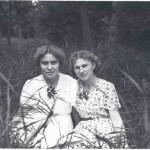 1957, С подругой