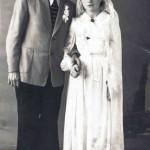 1957. Свадебное фото