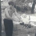 1960, муж с маленькой дочерью