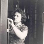 1963. На работе, телефонная станция