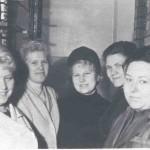 1968. На работе с сотрудниками
