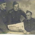 Отец Александр Евсеев, 1945 г., Германия.