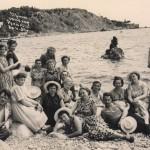 На отдыхе в Крыму, май 1957.
