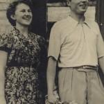 После росписи в ЗАГСе, 10 сентября 1957 г., Харьков