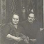 1980. Зинаида Петровна и Александр Кириллович.