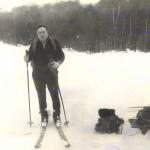 Лыжный поход.